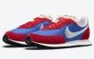 这款蓝色和红色 Nike Waffle Trainer 2 金属银色细节