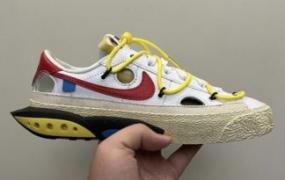 亲眼看看 Off-White x Nike Blazer Low