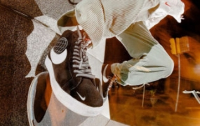 抢先看:SKATEDELUXE x Nike SB Blazer Mid