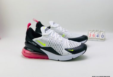 Nike耐克Air Max 270 FLYKNIT半掌气垫透气跑步鞋