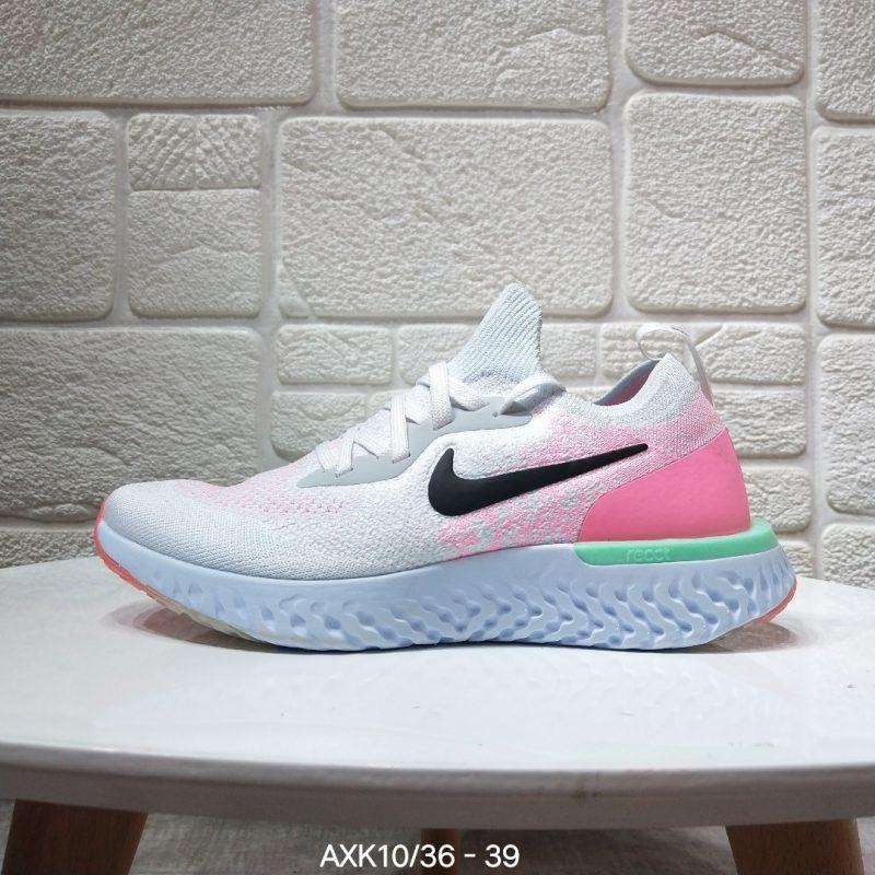 跑鞋, 瑞亚二代跑鞋, 中性鞋, Swoosh, React中底, React Flyknit 2, Flyknit, Epic React Flyknit