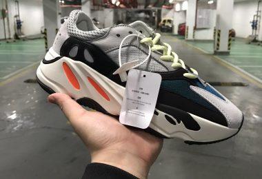 阿迪达斯Adidas Yeezy700 Boost Salt 侃爷椰子700老爹鞋