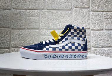 24034355896 380x260 - 高帮板鞋, 万斯板鞋, 万斯SK8系列, Vans SK8-Hi, Vans, Sk8-Hi, Blur Check SK8-Hi