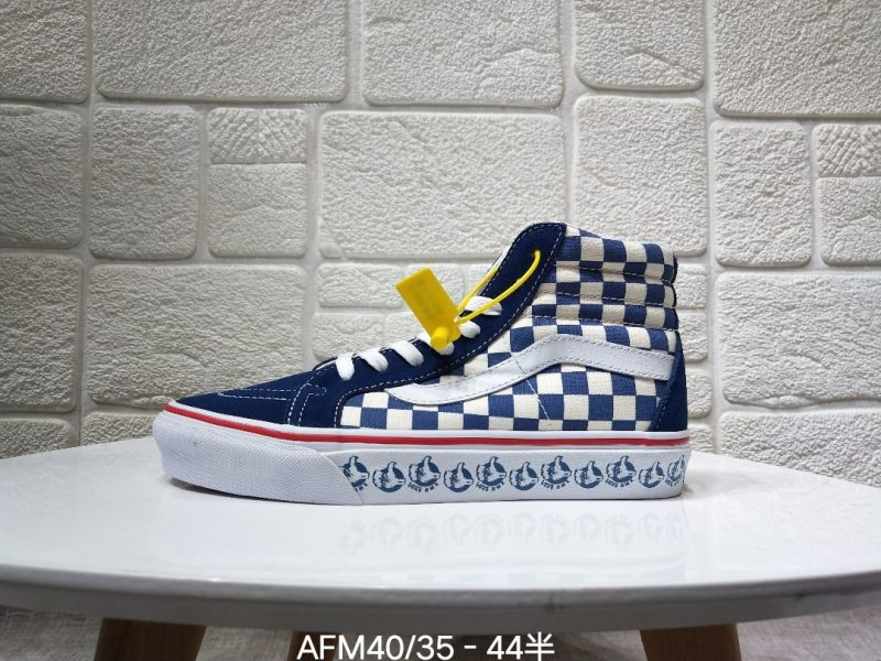 高帮板鞋, 万斯板鞋, 万斯SK8系列, Vans SK8-Hi, Vans, Sk8-Hi, Blur Check SK8-Hi