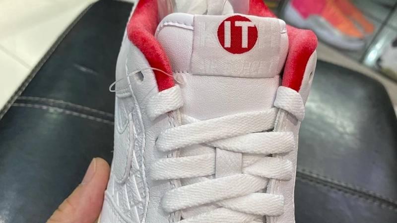 """空军一号, KITH x Nike Air Force 1"""" University Red, Air Force 1"""