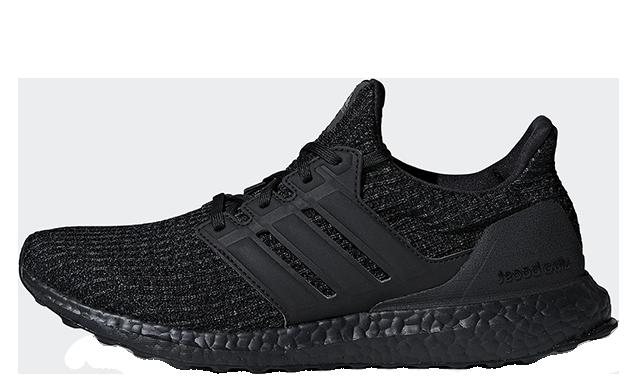 Triple Black, adidas Ultra Boost 4.0