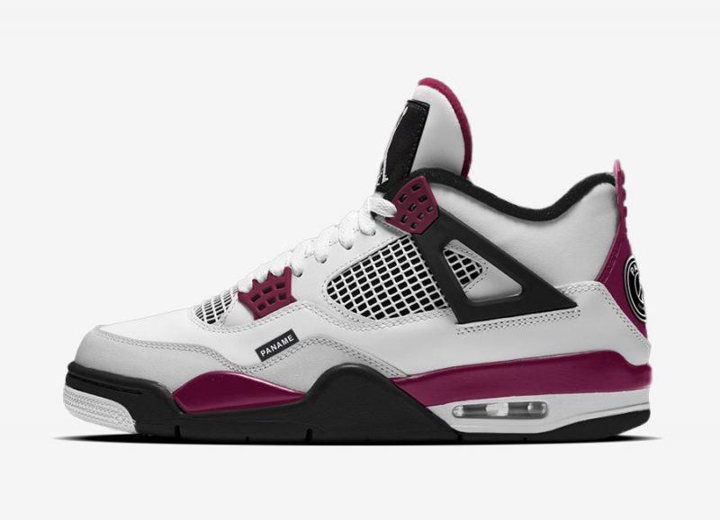 """AIR JORDAN 4"""" PSG"""", Air Jordan 4"""
