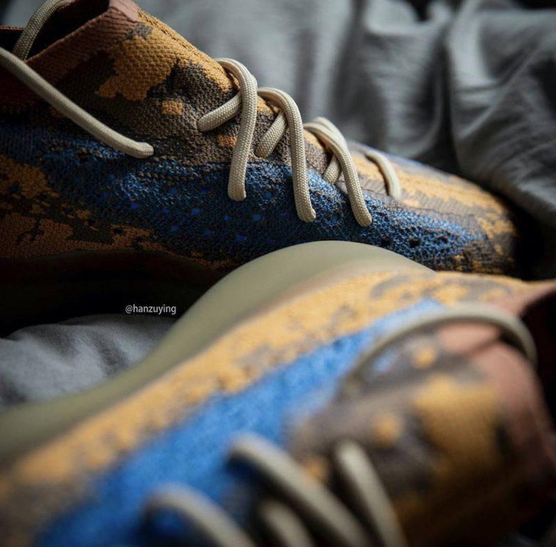 BLUE OAT, adidasYeezyBoost 380
