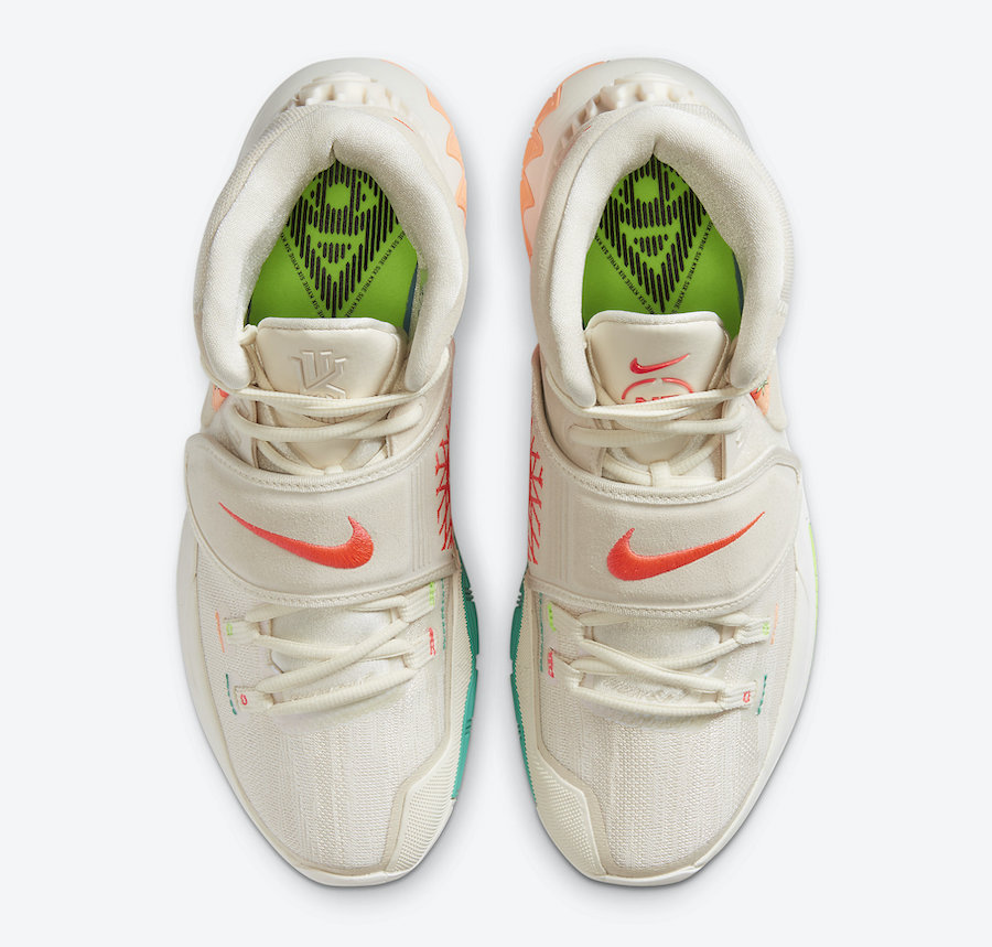 """耐克Kyrie 6"""" N7"""", Nike Kyrie 6, Kyrie Irving"""