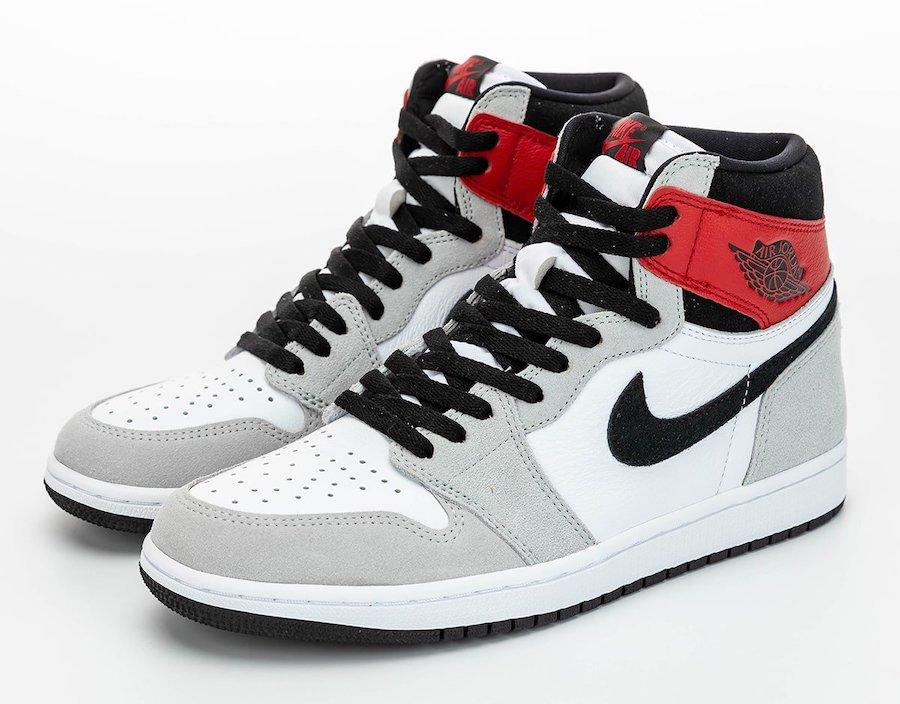 zsneakerheadz, Union x Air Jordan 1, Swoosh, Light Smoke Grey, Jordan Brand, Jordan, Air Jordan 1, Air Jordan