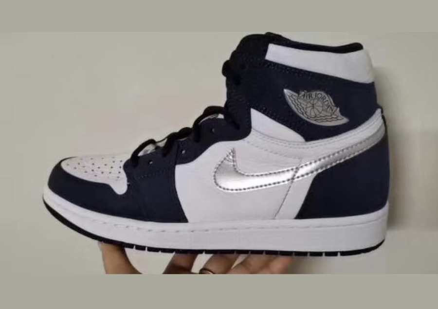 Swoosh, Midnight Navy, Jordan, Air Jordan 1, Air Jordan