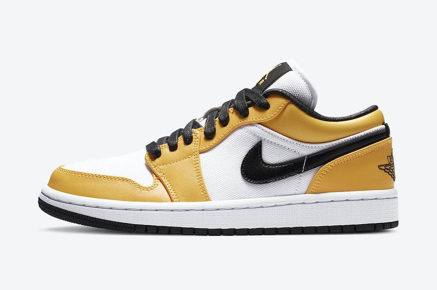 Swoosh, Laser Orange, Jordan Brand, Jordan, Black, Air Jordan 1 Low WMNS, Air Jordan 1 Low, Air Jordan