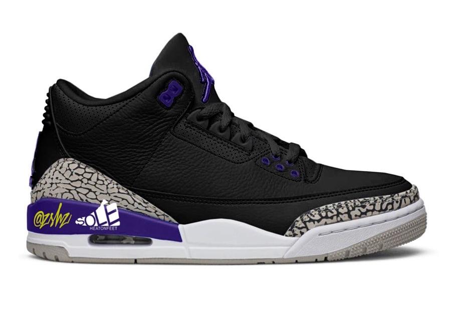 zsneakerheadz, Jumpman, Jordan Brand, Jordan, Court Purple, Black, Air Jordan
