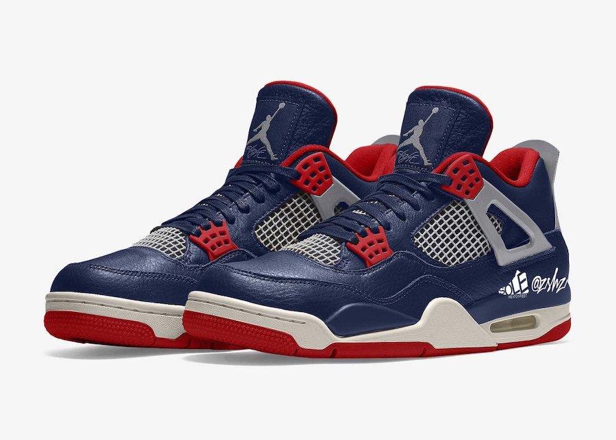 """zsneakerheadz, Jordan, Air Jordan 4"""" Olympic"""" PE, Air Jordan 4 SE"""" Deep Ocean"""", Air Jordan 4 SE, Air Jordan 4"""