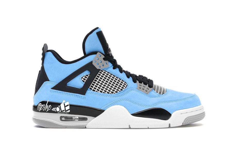 University Blue, AJ 4, Air Jordan 4 SE