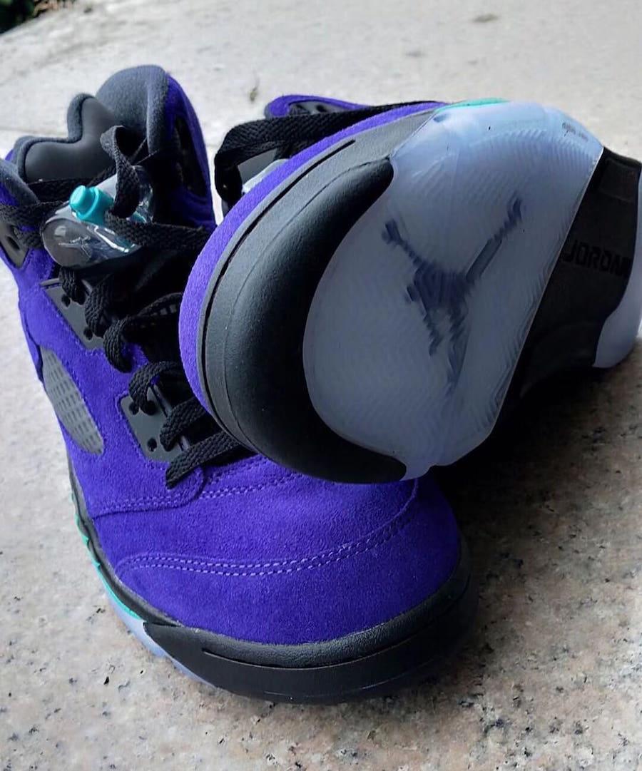 Alternate Grape, AJ 5, Air Jordan 5