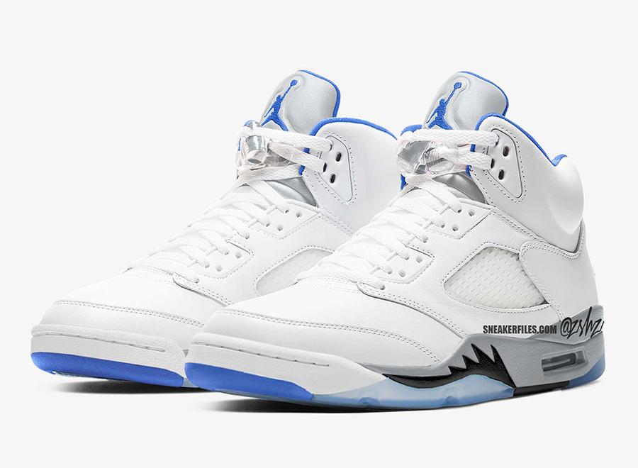 Jumpman, Jordan Brand, Jordan 5, Jordan, HYPER ROYAL, Black, Air Jordan 5