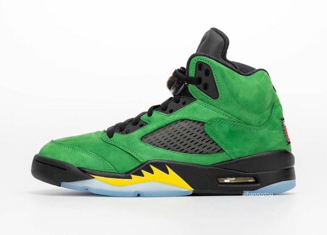 "Oregon Ducks, Jumpman, Jordan Brand, Jordan 5, Jordan, Air Jordan 5 SE"" Oregon Ducks"", Air Jordan 5, Air Jordan"
