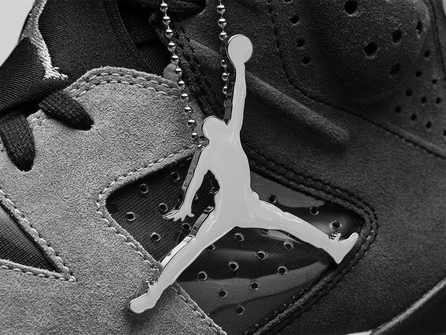 Jumpman, Jordan Brand, Jordan, Black, Air Jordan 6 WMNS, Air Jordan 6, Air Jordan