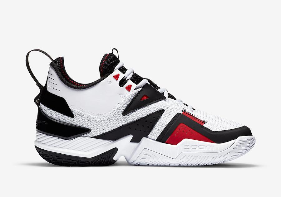 Jordan Westbrook One, Black Toe, Air Jordan 1
