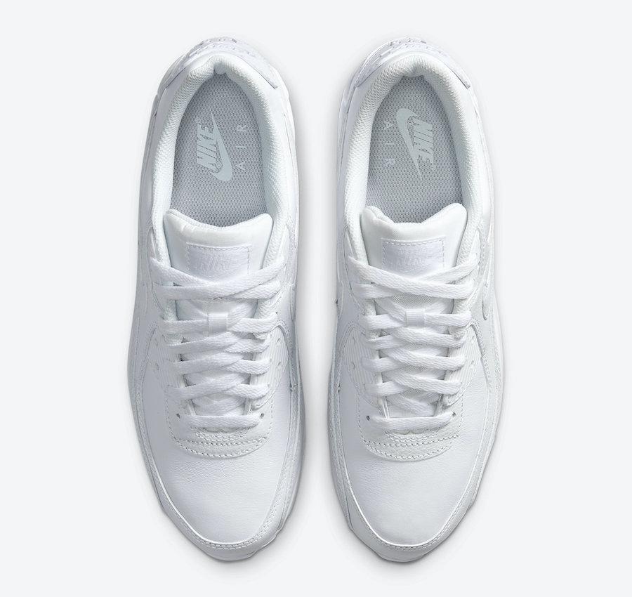 Triple White, Nike Air Max 90, Nike Air Max, Nike Air, Black, Air Max 90, Air Max
