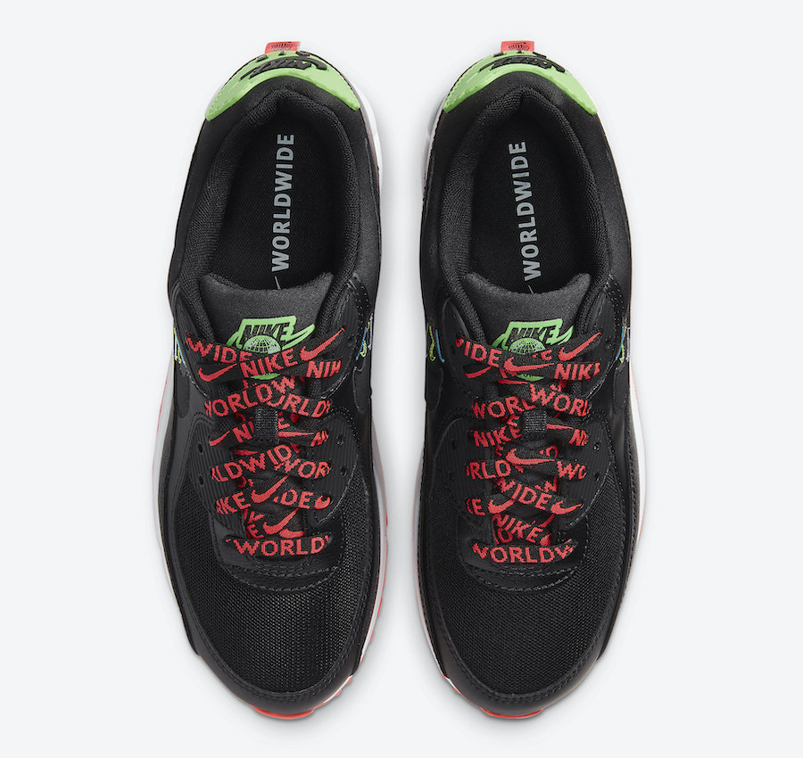 """Worldwide, Swoosh, Nike Air Max 90"""" Worldwide"""", Nike Air Max 90, Nike Air Max, Nike Air, Air Max"""