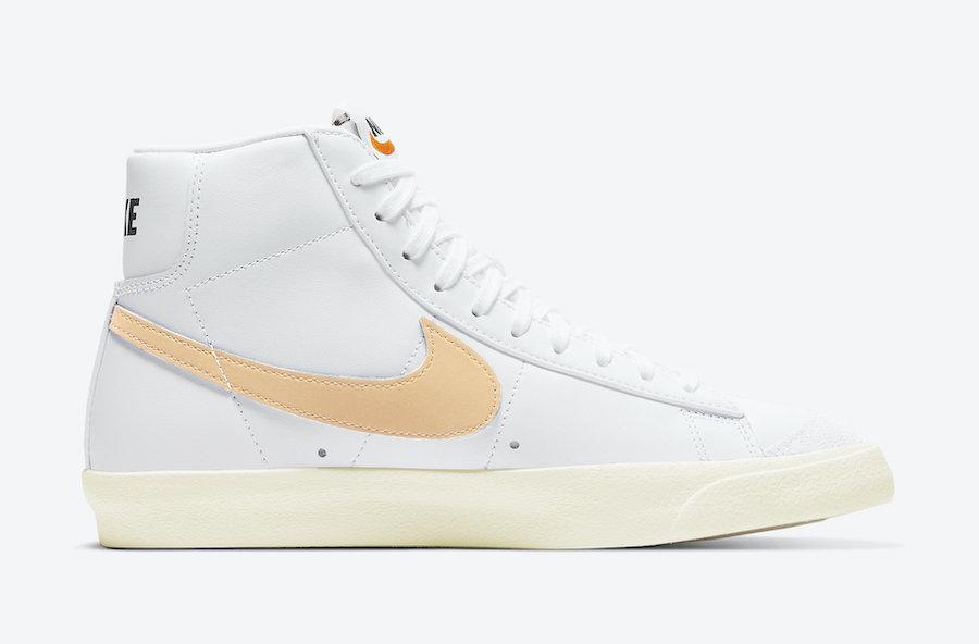 女鞋, Swoosh, Pale Orange, Nike Blazer Mid, Blazer Mid