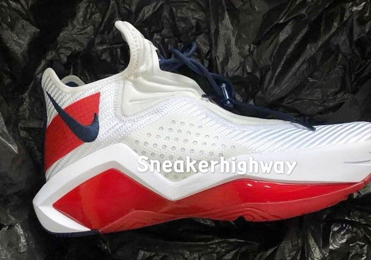 White / Red, NIKE LEBRON SOLDIER 14