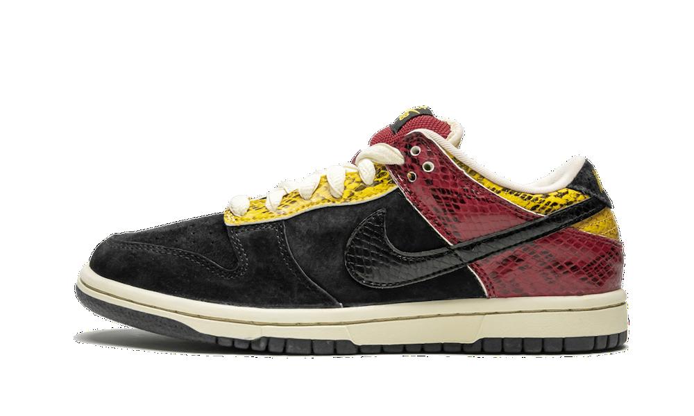 Nike SB Dunk Low, Coral Snake