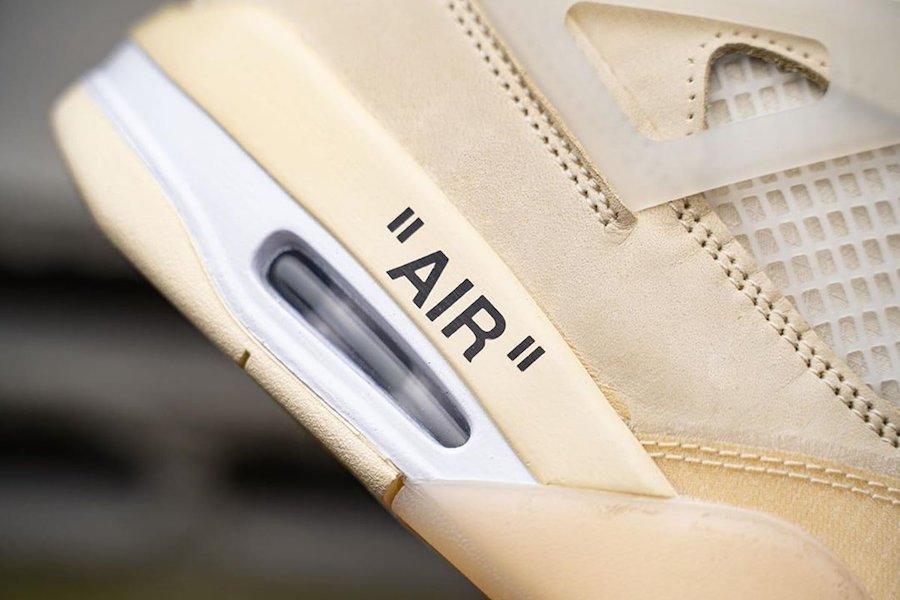 zsneakerheadz, Off-White x Air Jordan 4 SP WMNS, Off-White, Jordan 5, Jordan, Black, AIR JORDAN 4 SAIL, Air Jordan 4, Air Jordan