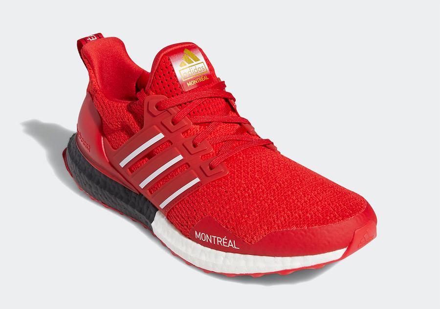 "adidas Ultra Boost DNA Montreal"" Scarlet"", Adidas Ultra Boost, adidas Originals"