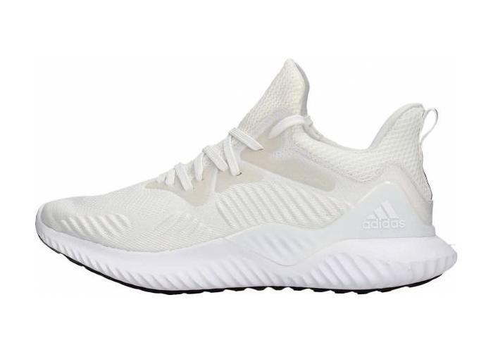 22082101523 - 阿迪达斯跑鞋, 阿尔法跑鞋, Cloud White, Black, Alphabounce Beyond, Alphabounce, Adidas Alphabounce, Adidas