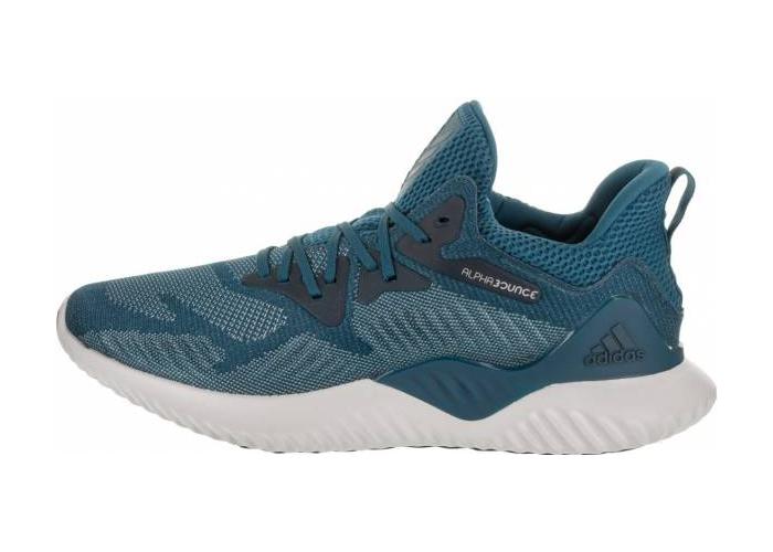 22082105346 - 阿迪达斯跑鞋, 阿尔法跑鞋, Cloud White, Black, Alphabounce Beyond, Alphabounce, Adidas Alphabounce, Adidas