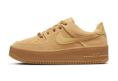 耐克 Nike Air Force 1 Sage Low 空军一号低帮高频热压鞋面