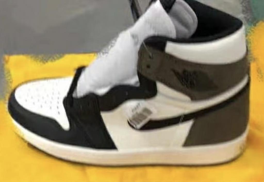 zsneakerheadz, Swoosh, Jordan, Dark Mocha, Black, Air Jordan 1, Air Jordan