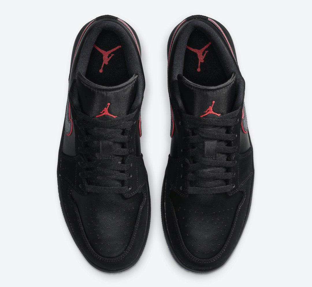 Air-Jordan-1-Low-Black-Red-Orbit-CK3022-006-Release-Date-2