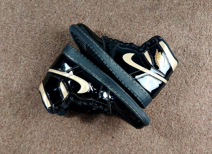 Air-Jordan-1-Patent-Black-Gold-555088-032-Release-Date-1