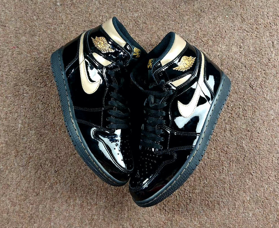 Air-Jordan-1-Patent-Black-Gold-555088-032-Release-Date-3