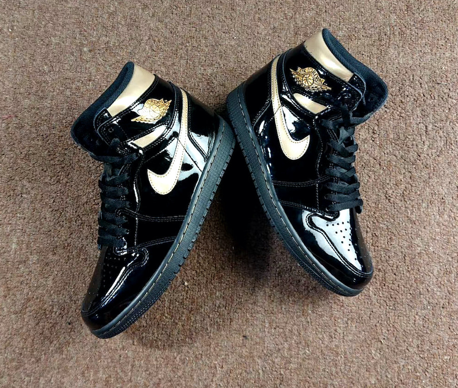Air-Jordan-1-Patent-Black-Gold-555088-032-Release-Date-4