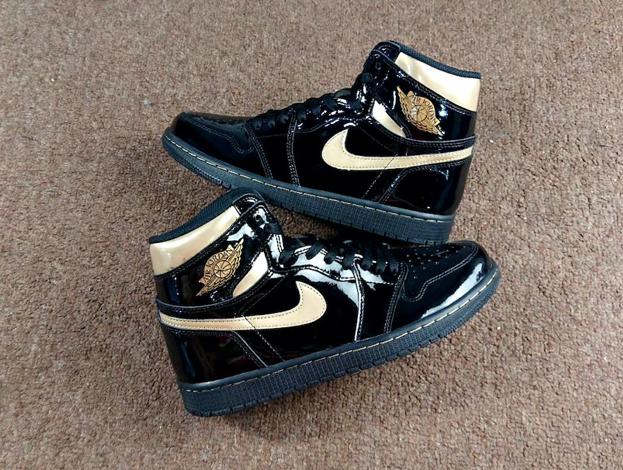 Air-Jordan-1-Patent-Black-Gold-555088-032-Release-Date