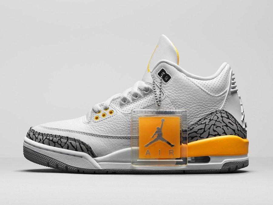 """Laser Orange, Jumpman, Jordan Brand, Jordan, Air Jordan 3 WMNS"""" Laser Orange"""", Air Jordan 3, Air Jordan"""