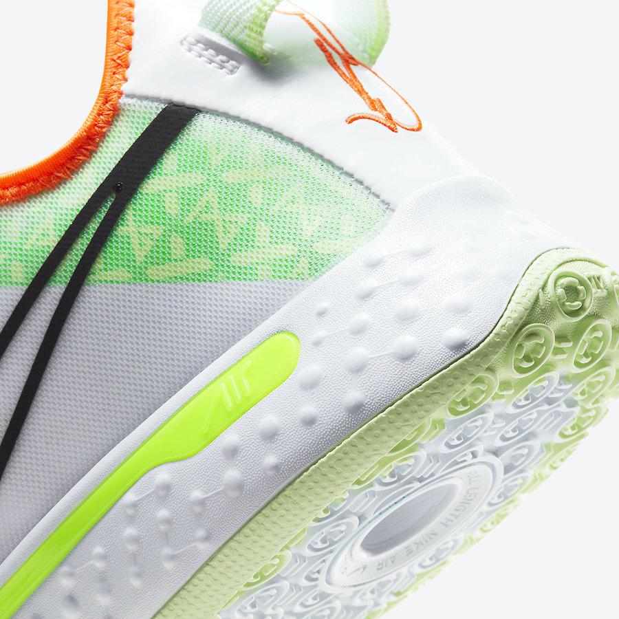 运动鞋, White GX, Swoosh, Nike PG 4