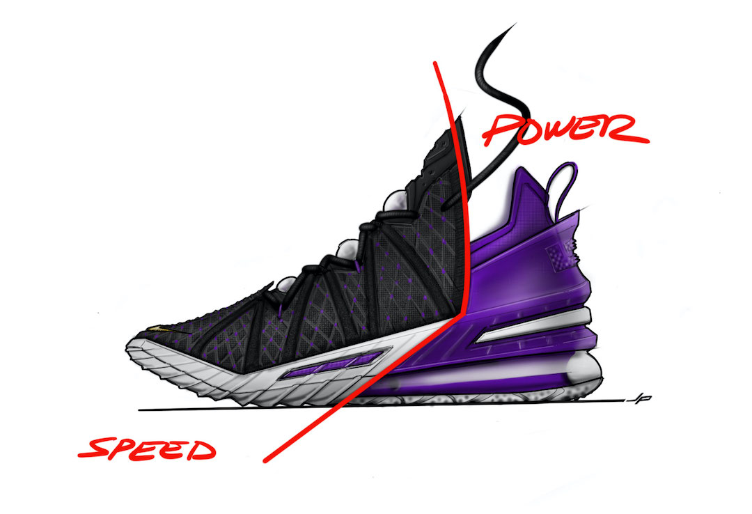 Zoom Air, Zoom, Nike LeBron 18, James, Air Max