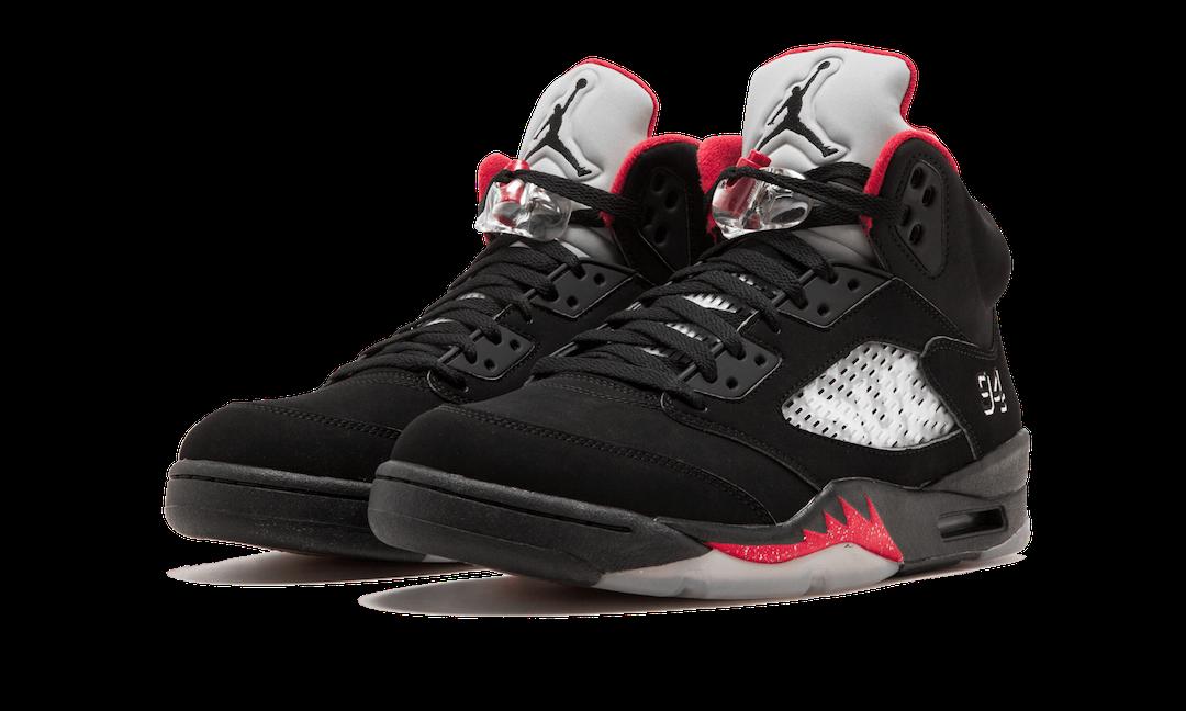 PSG, Jumpman, Jordan Brand, Jordan 5, Black, Air Jordan 5, Air Jordan