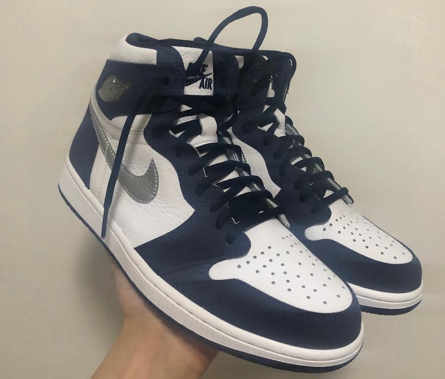 Swoosh, Midnight Navy, Jordan, Air Jordan 1 High OG CO.JP, Air Jordan 1, Air Jordan