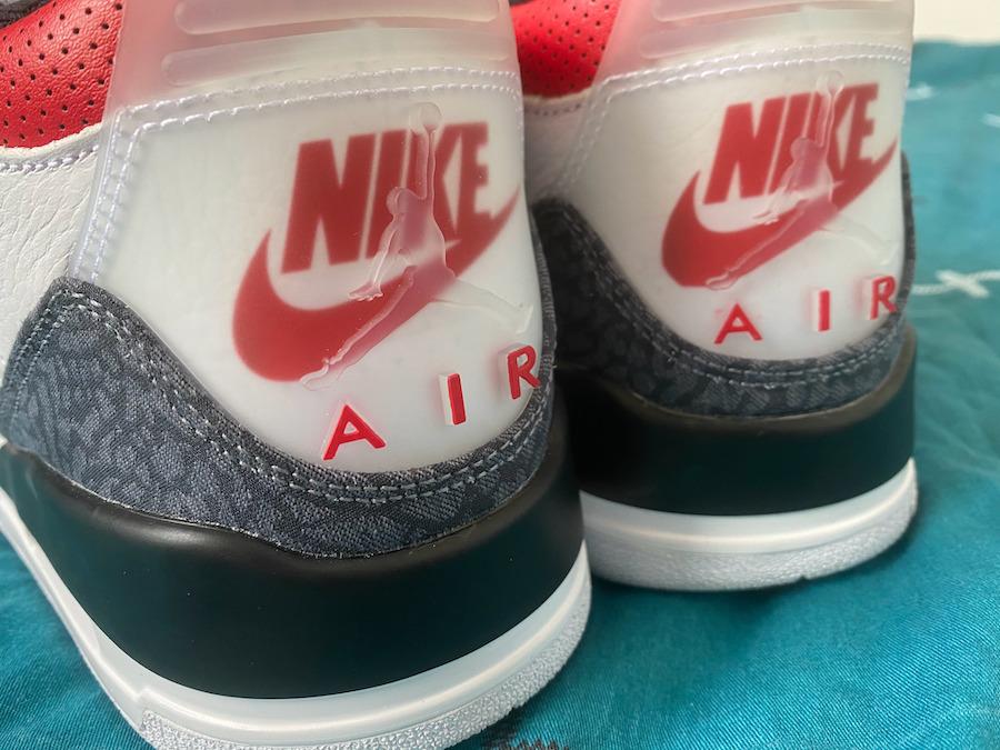 zsneakerheadz, Nike Air, Jumpman, Jordan Brand, Jordan, Fire Red, Black, Air Jordan 3 SE Denim, Air Jordan 3, Air Jordan