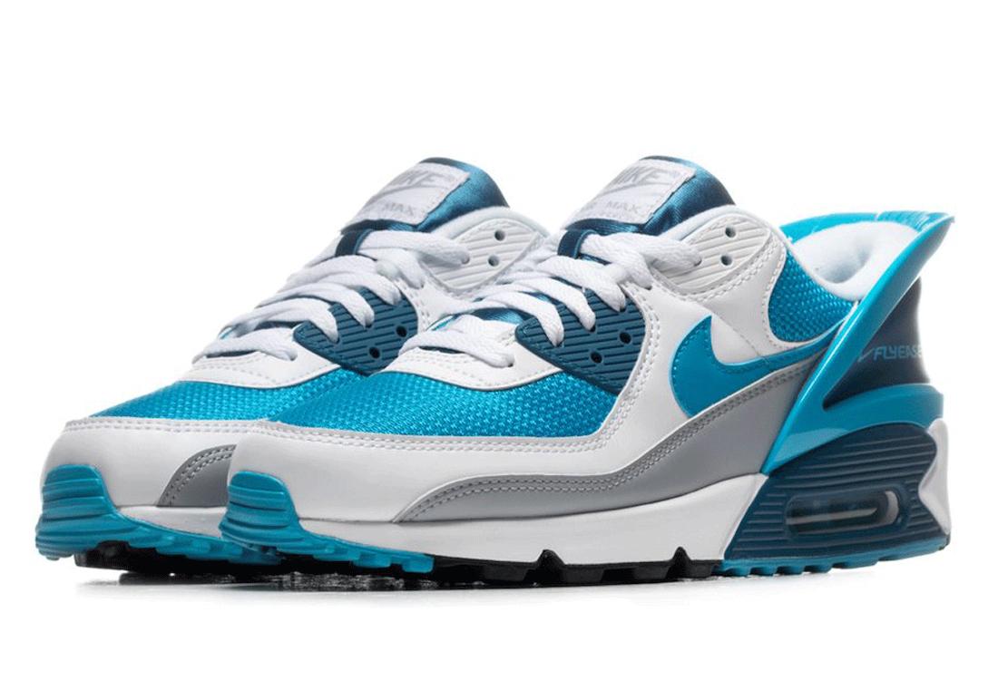 Nike Air Max 90, Nike Air Max, Nike Air, Laser Blue, Air Max 90 FlyEase, Air Max 90