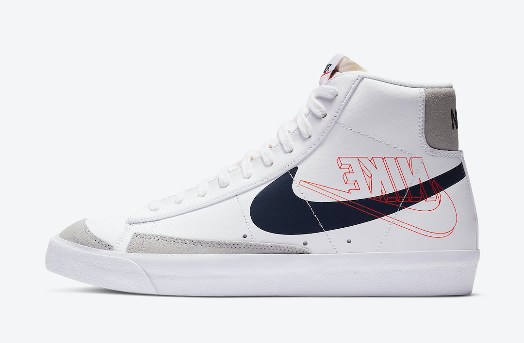 Swoosh, Nike Blazer Mid, NIKE, Blazer Mid