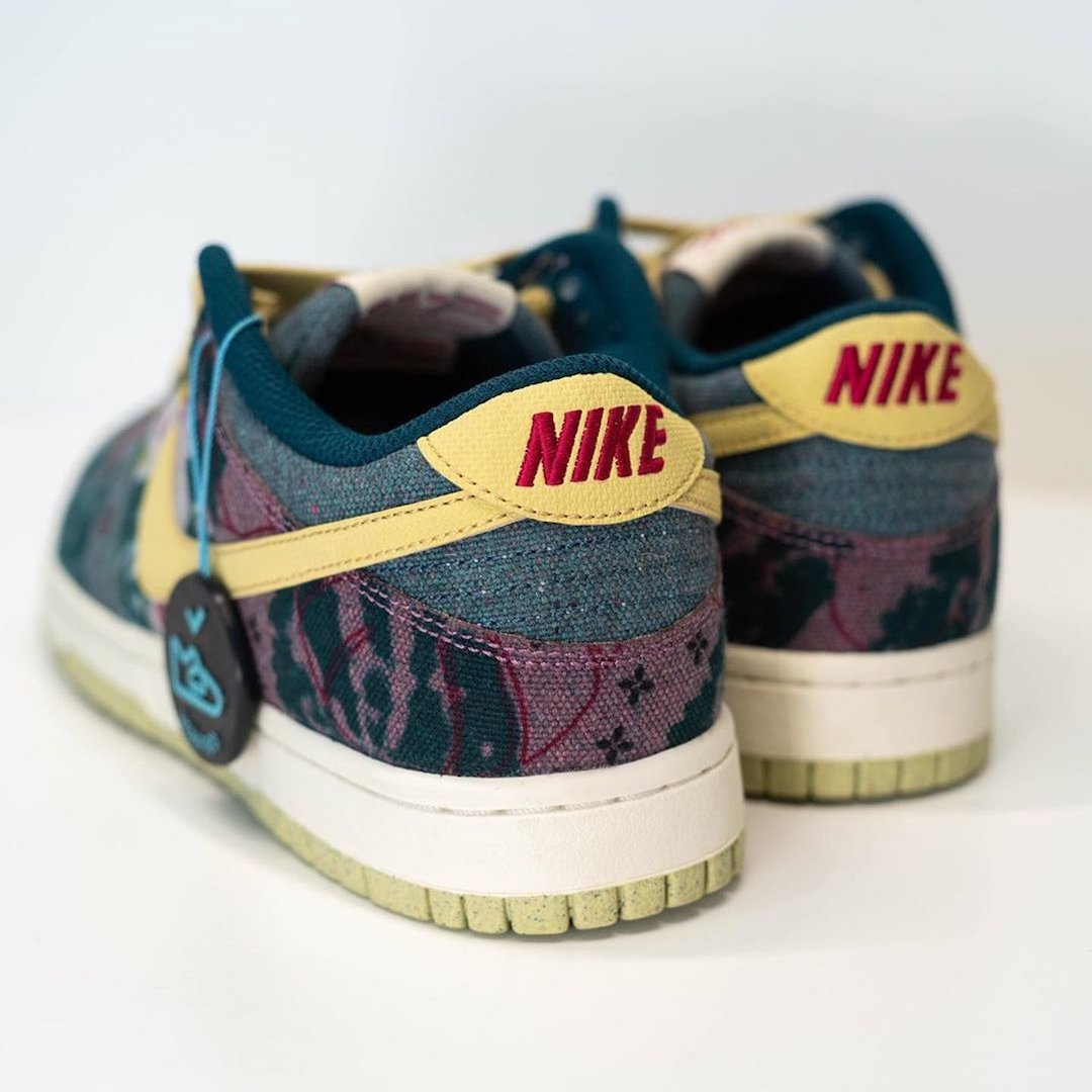 Swoosh, Space Hippie, Nike Dunk Low, Nike Dunk, Lemon Wash, Dunk Low, Dunk