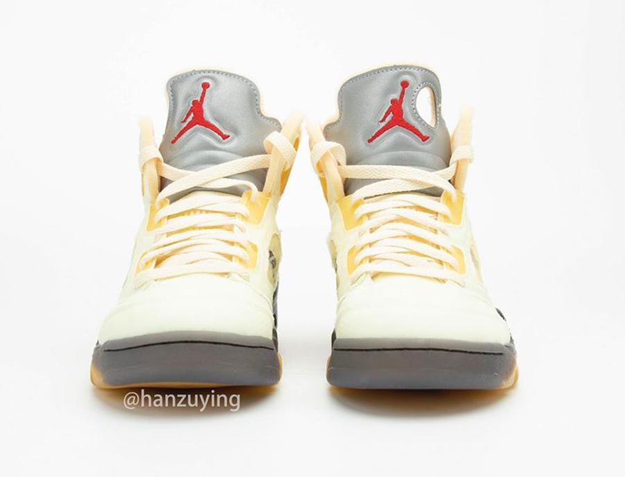 zsneakerheadz, Off-White, Jordan 5, Jordan, Black, Air Jordan 5, Air Jordan, 3M反光